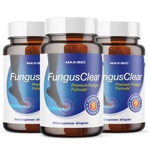 Fungus Clear - 180 Capsules - Premium Probiotic Fungus Blend 3 month supply