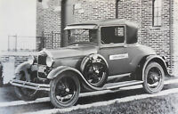 """12 By 18"""" Black & White Picture 1928 1929 Ford Coupe buisness"""