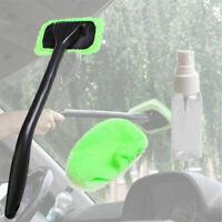 Car Auto Wiper Cleaner Glass Window Tool Brush Kit Microfiber Windshield Clean