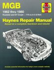 MGB 1962 - 1980 Workshop Manual