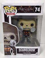 Funko POP! Heroes Batman Arkham Knight SCARECROW #74 Vinyl Figure Bobble-Head