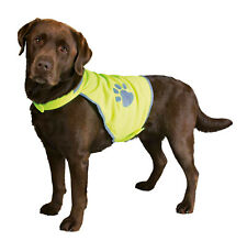 Trixie Dog Safety Vest - Hi Vis Fluorescent Yellow with Reflective Areas 5 Sizes