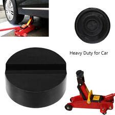 1X  DIY Car SUV Slotted Frame Rail Hydraulic Floor Jack Disk Rubber Pad Black T
