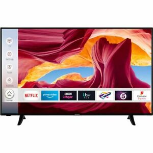 Techwood 50AO9UHD 50 Inch TV Smart 4K Ultra HD LED Freeview HD 3 HDMI Dolby