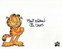 Jim Davis Autographed Signed 8x10 Photo ( Garfield ) REPRINT