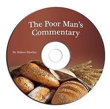 Poor Man's Bible Commentary-Robert Hawker-Christian Scripture Study-CD eBook PDF