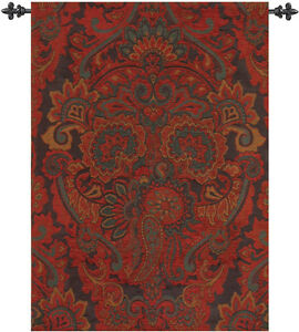 Ariana Holiday ~ Persian Paisley Tapestry Wall Hanging