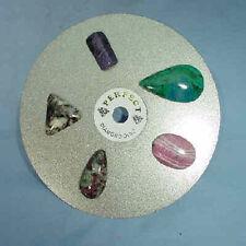 "6"" 260 grit SACHI PERFECT diamond flat lap lapidary grinding polishing disc I"