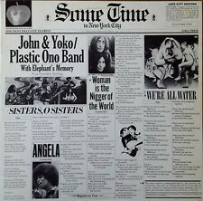JOHN & YOKO / PLASTIC ONO BAND - SOME TIME IN NYC - 2 LP SET- APPLE - GERMAN LPS