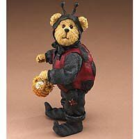 BOYDS SHOE BOX BEARS Lady B. Bear NIB #3257 Ladybug