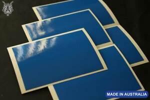 "15 Blue Gloss Arrow Wraps 4x1"""