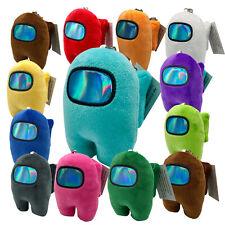 US Among Us Game Plush Soft Stuffed Toy Doll Game Figure Role Plushie Kids Gift