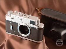 8978 - Zorki 4 Film Camera Body inc Original Black Leather Case - VGC