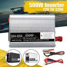 500W Peak Car Power Inverter Sine Wave 12V DC to 240V AC Transmitter Travel