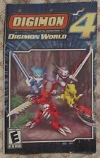 Play Station 2 PS2 - Digimon World 4 (French manual only)