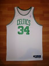 NWOT #34 PAUL PIERCE 2004-05 CELTICS WHITE GAME-ISSUED PRO-CUT JERSEY 54+4""