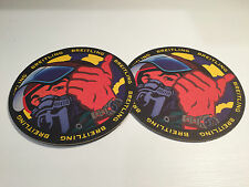 2x Sottobicchieri BREITLING - Drink Coasters - Cartone Paper - For Collectors