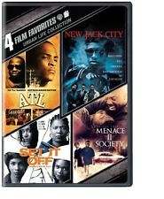 4 Film Favorites: Urban Life (ATL, New Jack City, Set It Off: Deluxe Edition,...