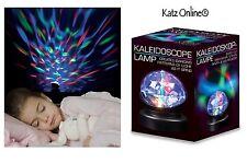 Rotazione Caleidoscopio LAMPADA VIDEOPROIETTORE BABY ROOM autismo sensoriale PRISMA LUCE NOTTURNA