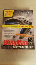 Logitech Wingman Extreme USB/Gameport Game Controller w/ USB adapter.