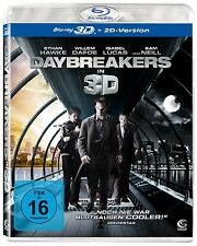 DAYBREAKERS (Ethan Hawke) 3-D  BLU RAY - Sealed Region B for UK