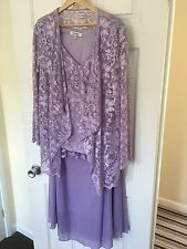 """Womens 3 piece lilac  'mother of the bride"""" suit 16/20"""