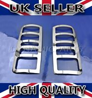FORD TRANSIT CONNECT CHROME REAR LIGHT LAMP TRIM COVERS STAINLESS STEEL