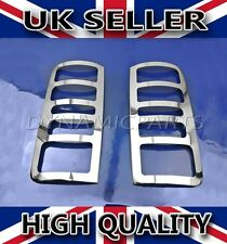 FORD TRANSIT CONNECT CHROME REAR LIGHT LAMP HEAD LIGHT TRIM COVERS STAINLESS
