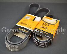 Bmw E39 E46 A/C Air Condition Drive Belt and Alternator Power Steering Belt set