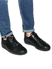 LOUIS VUITTON men's black leather low top sneakers | Size 8 (27.5 cm/10.6 in)