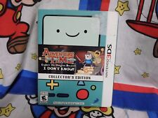 Adventure Time:Explore the Dungeon Because I Don't Know (3DS) Collectors Edition