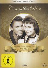 CONNY & PETER - 2 DVD -WENN DIE CONNY MIT DEM PETER / CONNY + PETER MACHEN MUSIK