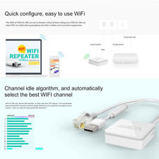 VONETS WAN/LAN 300Mbps Wireless WiFi IEEE 802.1g/b/n Ripetitore Repeater Router