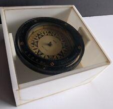 E.S. Ritchie & Sons Boston U.S.A. Negus New York Maritime Compass Antique