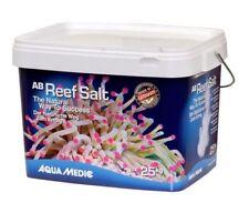 AQUA MEDIC MARINE REEF CORAL FISH SALT BUCKET 25KG AQUAMEDIC TANK AQUARIUM