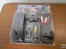 5 tlg. DVD Anschluss Set - Tevion MD 81325 - unbenutzt + OVP    /S135
