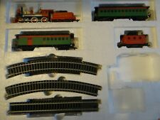 Department 56 Heritage Village Express Bachmann HO Christmas Train Set 1987 Used