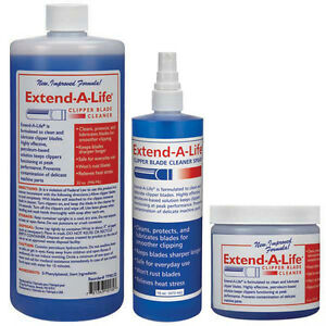 Blade Cleaner Rinse Solution For Grooming Clippers Clean & Protect Extends Life