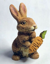 Harmony Kingdom Artist Neil Eyre Eyredesigns Easter Brown Bunny Rabbit Carrot