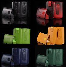 Universal Gürtel Tasche Hülle Schutzhülle  5,5 Zoll Slim Handytasche mit Lasche