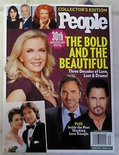 BOLD And The BEAUTIFUL 30th ANNIVERSARY People Special Edition LOVE Lust DRAMA