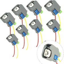 8X New EV6 Fuel Injector Connector Pigtail Wiring Harnesses For Silverado Sierra