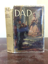 DAD By Albert Payson Terhune & Sinclair Lewis  - 1914 - 1st ed in dustjacket