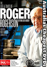 The Life & Times Of Roger Rogerson DVD NEW, FREE POSTAGE WITHIN AUST REGION ALL
