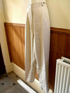 BRAND NEW CREAM TROUSERS SIZE 20