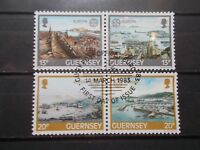 GB Guernsey 1983 Commemorative Stamps~Europa~ Fine Used Set~UK Seller