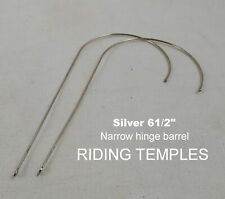 ALUMNICO antique Riding Temples (Silver)