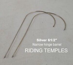 ALUMNICO antique Riding Temples (Silver)