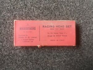 NIB Magistroni Racing Headset, 1950s