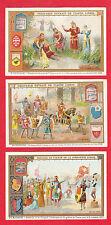LIEBIG - RARE SET OF 6 CARDS -  S 513  /  F 511  -  THE  CRUSADES  II  -  1897